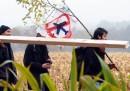 Le proteste contro il nuovo aeroporto di Nantes