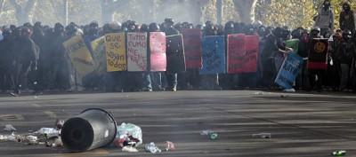 Cancellieri su polizia e scontri