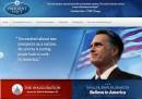 Il sito di Romney presidente