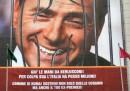 Il manifesto per Berlusconi in Ucraina