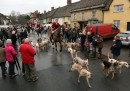 The Avon Vale Hunt Gathers For Their Traditional Boxing Day Hunt