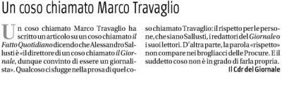 """""""Un coso chiamato Marco Travaglio"""""""