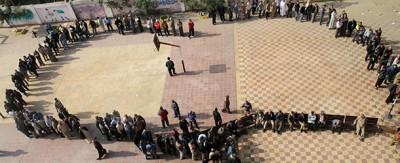 Le foto del voto in Egitto