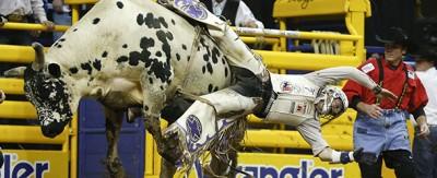 Le foto del National Finals Rodeo