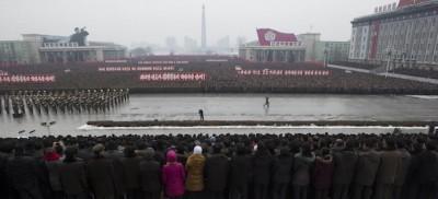 Le foto della festa in Corea del Nord