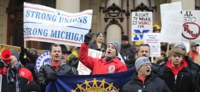 Il Michigan ha approvato la legge contro i sindacati
