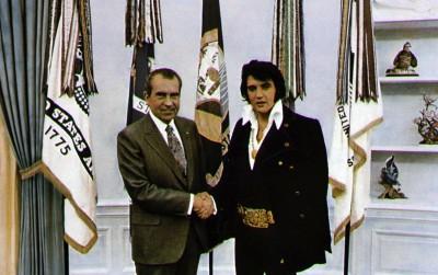Nixon e Presley