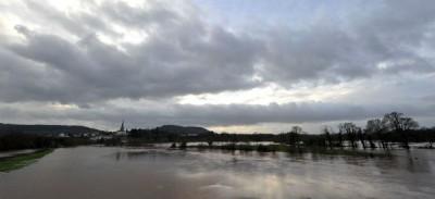 Le alluvioni nel Regno Unito