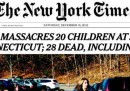 Le prime pagine dei giornali americani di sabato