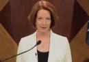 Julia Gillard e la fine del mondo