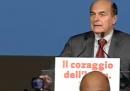 Il discorso di Bersani dopo la vittoria al ballottaggio delle primarie