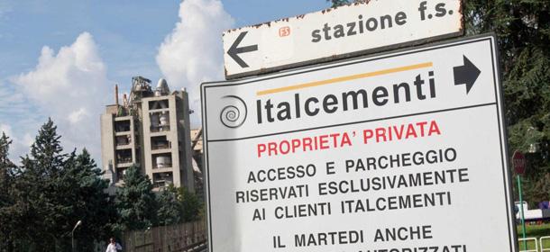 Sequestro preventivo stabilimenti Italcementi Colleferro