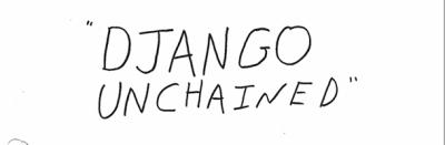La sceneggiatura di Django Unchained