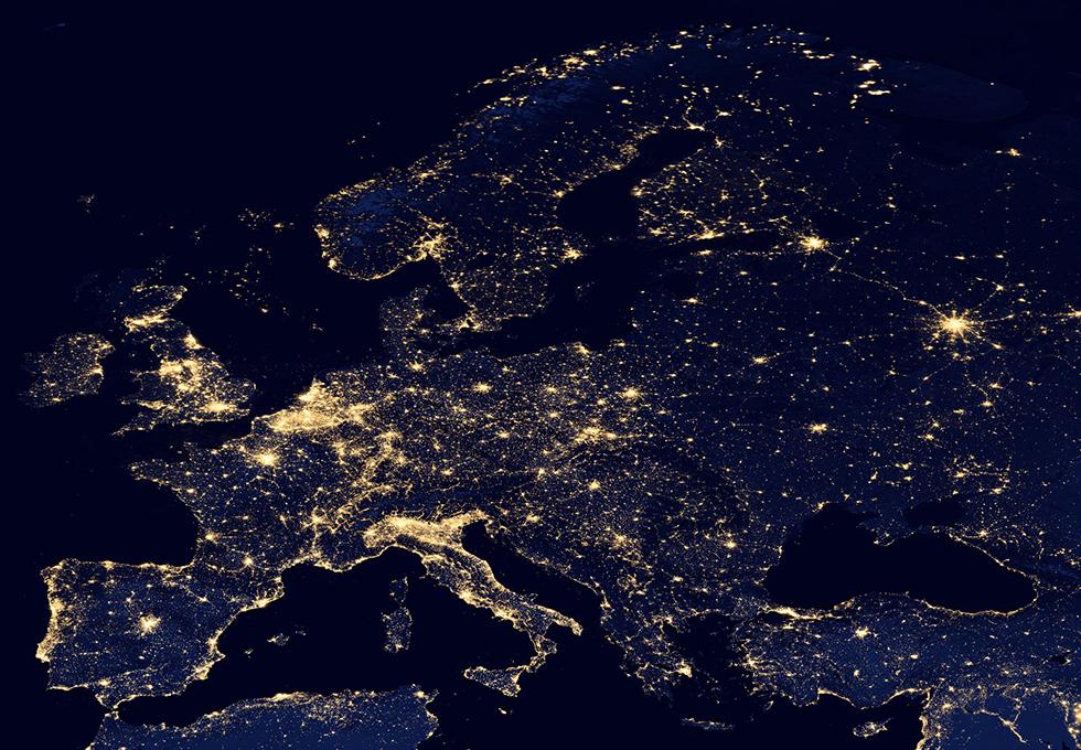 Il Mondo Di Notte Foto Il Post