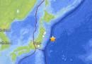 Il terremoto al largo del Giappone