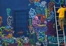 Le foto dei murales a Miami
