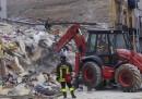 Due palazzine sono crollate a Palermo