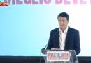Il discorso di Renzi dopo la sconfitta al ballottaggio delle primarie