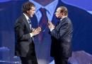 Berlusconi minaccia di lasciare il programma <i>l'Arena</i> su <i>RAI 1</i>