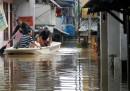 Alluvione a Giacarta, Indonesia