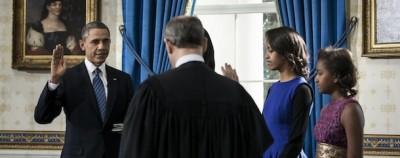Il giuramento ufficiale di Obama
