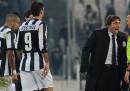 Il discusso fallo in area di Juventus-Genoa