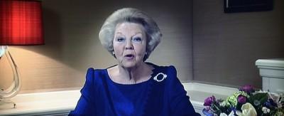 L'abdicazione della regina d'Olanda
