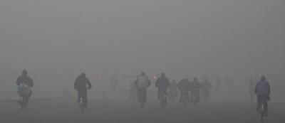 Le nuove foto di Pechino inquinata