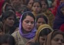 La marcia delle donne a Delhi