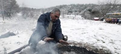 La neve in Grecia