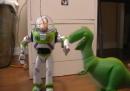 Toy Story, rifatto integralmente con pupazzi e attori veri