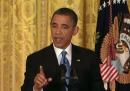 Obama canta <em>SexyBack</em>, con Joe Biden