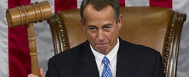 John boehner rieletto presidente della camera degli stati for Design della camera degli ospiti