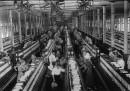 Un cotonificio nel 1911