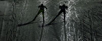 Sciatori nell'ombra