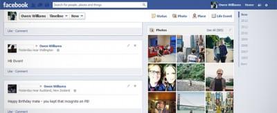 Facebook cambia il suo Diario
