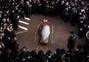 Un funerale ultra-ortodosso in Israele