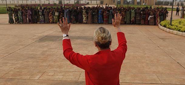 Togo Clinton Africa