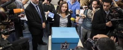Le foto delle elezioni israeliane