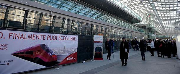 Inaugurazione nuova tratta Torino-Milano del treno Italo di ntv