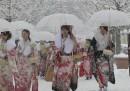 La neve a Tokyo