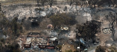 I grandi incendi in Tasmania