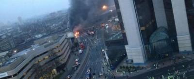 Un elicottero si è schiantato a Londra