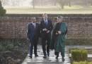 David Cameron, Hamid Karzai, Asif Ali Zardari