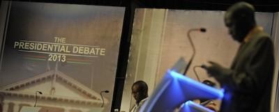 Il dibattito tv tra i candidati in Kenya