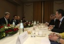 John Kerry a Roma per riunione sulla Siria