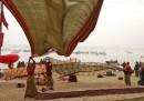 I sari del Kumbh Mela
