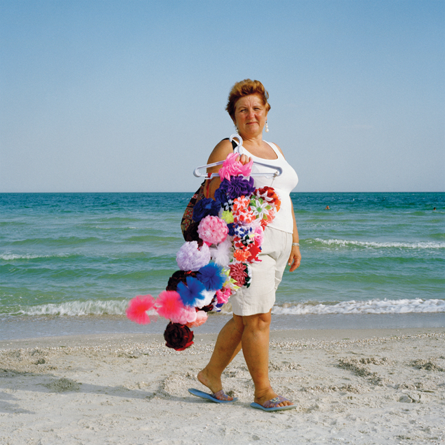 Olena Slyesarenko, Beach Vendor