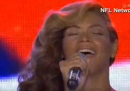 Beyoncé canta l'inno degli Stati Uniti dal vivo (davvero questa volta)
