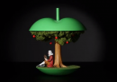 Torsolo di mela molto animato (l'ultimo lavoro di PES)